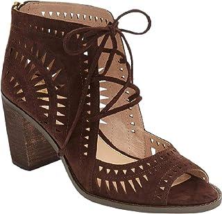 12a91786b1b6 Vince Camuto Women s TARITA Cutout Lace-Up Sandal Brown