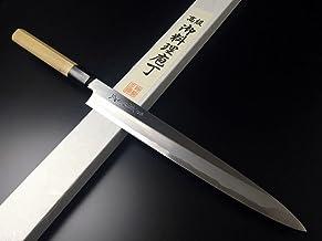 有次 包丁 特製柳刃 270mm 白鋼2 築地 ARITSUGU 柄 鞘付 名入れ