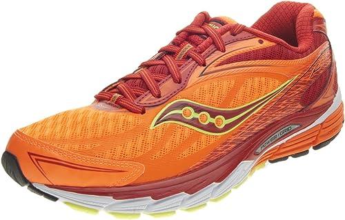 Saucony Ride 8 - Hauszapatos de running unisex, Color azul   amarillo   naranja, - Arancione, 45