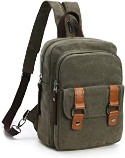 Small Mini Backpack Cute Little Backpack for Women (Army Green)
