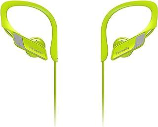 Panasonic Wings RP-BTS10E-Y- Auriculares Bluetooth Deportivos (Impermeables, Uso cómodo y ultraligero, Batería duradera, C...