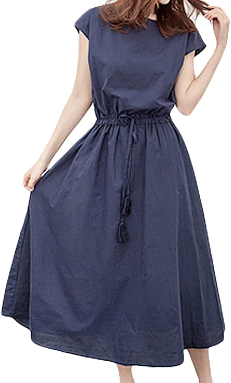 Maxi Dress Women Plus Size Boho Vest Dress Summer Beach Floral Maxi Kaftan Dress