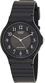 Casio Men's Multicolour Dial Resin Analog Watch - MQ-24-1B3LDF