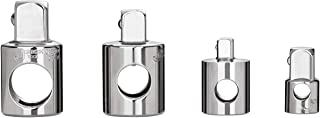 """Jetech 4-Piece Socket Adapter and Reducer Set - 1/2""""-3/8-Inch, 3/8""""-1/2-Inch, 3/8""""-1/4-Inch, 1/4""""-3/8-Inch, Cr-V"""