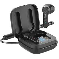 WeCool Moonwalk M2 in Ear True Wireless Earbuds with Digital Display (Black)