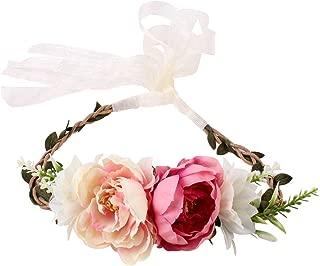 baby headband knitting pattern with flower