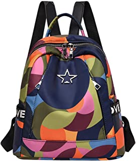 Women Oxford Backpacks Multifunction Bagpacks Girls School Bags Travel Bags snowvirtuosau