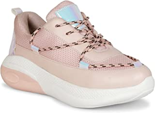 SIRDENILL Women Casual Laceup Shoes