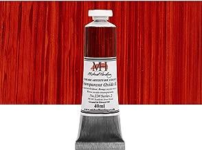 Michael Harding Artist Oil Colors - Transparent Oxide Red - 40ml Tube