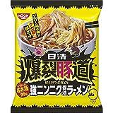 日清食品 日清爆裂豚道 強ニンニク醤油ラーメン 111g×12個