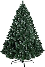 7FT Christmas Tree 2.1M Xmas Faux Snowy Green Tree Thick Foliage Jingle Jollys Holiday Decoration Indoor Décor Home Office...