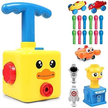 BAKAM Power Balloon Car Toy for Kids, Balloon Powered Car