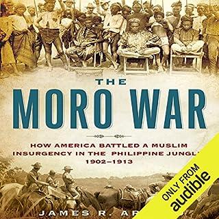 The Moro War audiobook cover art