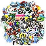 Stickerlabs Paquete de Pegatinas Bonitas de 50 Piezas Pegatinas para Deportes Extremos Surf esquí montañismo Escalada Parkour calcomanías para Tabla de Surf portátil Equipaje Bicicleta MTB
