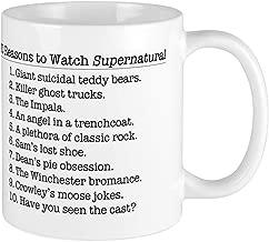 10 Reasons To Watch Supernatural 11oz Ceramic Coffee Mug