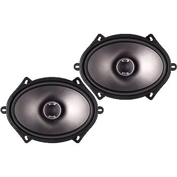 Polk Audio DB571 5-by-7-Inch Coaxial Speakers (Pair, Black)