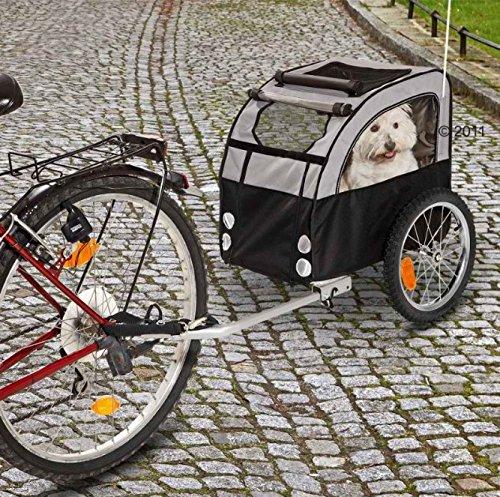 Leicht und langlebig Fahrradanhänger für Hunde–mit Schmutz und wasserabweisende Beschichtung–für jedes Wetter geeignet und ideal für Welpen, alte und Sick Kleine Hunde