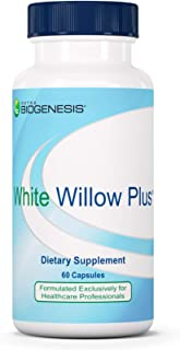 Nutra BioGenesis - White Willow Plus - White Willow Bark Extract, Caffeine, Curcumin and BioPerine to Help Support Body's ...