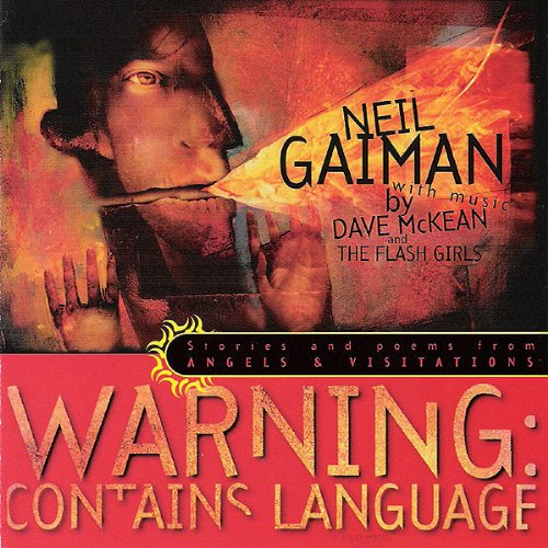 Warning: Contains Language audiobook cover art