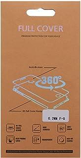 شاشة حماية كاملة 360 درجة من مادة الجيلاتين من الامام والخلف لموبايل سامسونج جالاكسي A8 (2018)