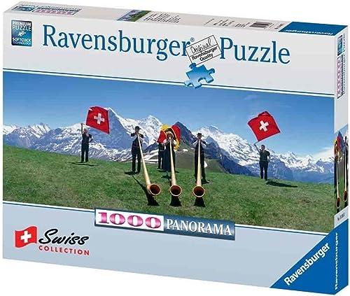 Ravensburger 15095 - Alphornbl r und Fahnenschwinger - Puzzle 1000 Teile