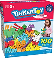 Tinkertoy 100 Piece Essentials Value Set by Tinker Toy [Toy] [並行輸入品]