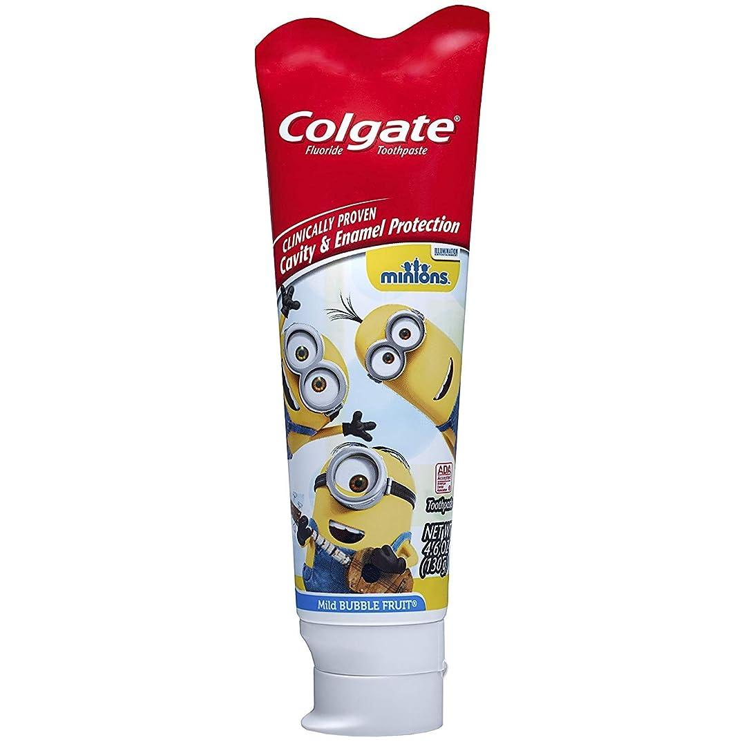 気楽なイルピカリングColgate キッズ手下の歯磨き粉、マイルドバブルフルーツ4.60オズ(7パック) 7のパック