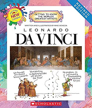 Leonardo Da Vinci (Getting to Know the Worlds Greatest Artists) by Mike Venezia(2015-02-01)