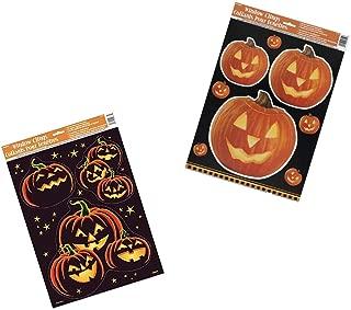 Halloween Window Clings Sheets 2 Pack