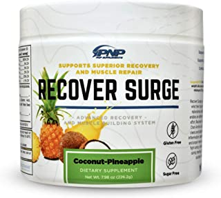 Recover Surge | Essential Post Workout Recovery Muscle Builder with BCAA's, Creatine Blend, L-Glutamine Blend, Muscle Cleanse Matrix and Muscle Reload Matrix | 226.2g