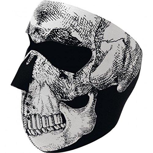 Skull Full Face Mask One Size–wnfm002–Zan Headgear 25030020(wnfm002)