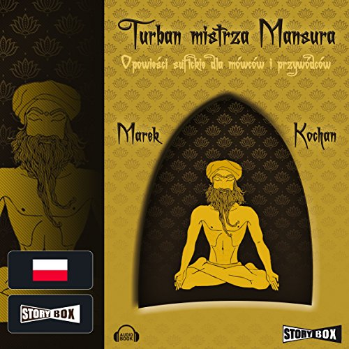 Turban mistrza Mansura audiobook cover art