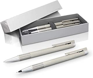 LAMY Logo Brushed Set of Ball Pen and Mechanical Pencil