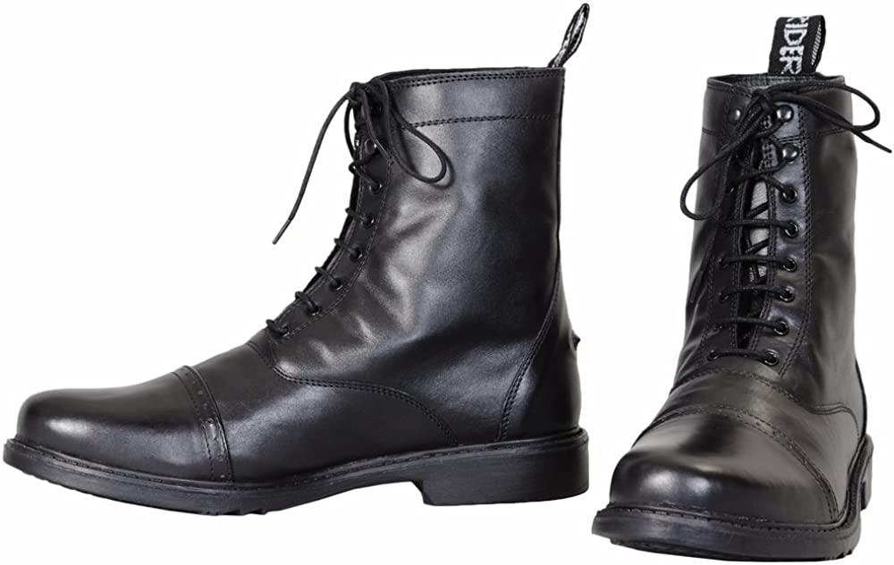 Men's Steampunk Costume Essentials TuffRider Mens Barouque Lace Up Laced Paddock Boots  AT vintagedancer.com