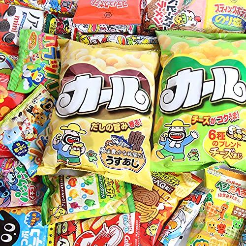 西日本限定カール入り!ポテトチップスやサイズも種類もいろいろチョコスナックも入ったお試しお菓子セット(26種・28コ入) おかしのマーチ(omtma7413k)