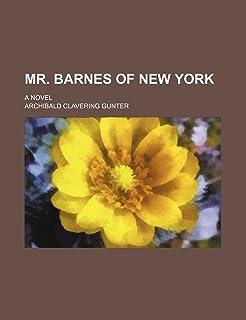 Mr. Barnes of New York; A Novel