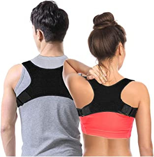 Luxe Back Posture Corrector for Women and Men, Bonus Gift! Upper Back Brace for Clavicle Support, Stand Straight for Great...
