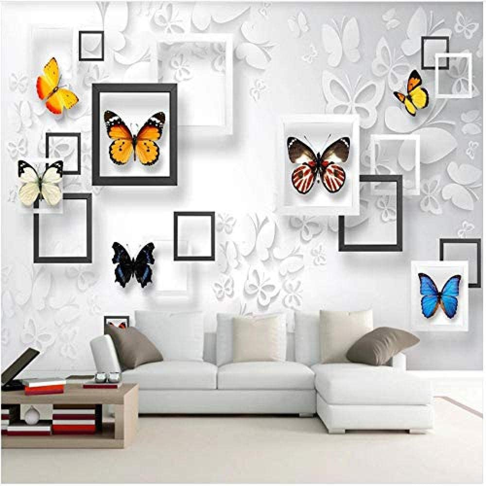 Clhhsy Waterproof and Removable Custom Wallpaper Milwaukee Mall Ranking TOP12 Stereo Mural 3D