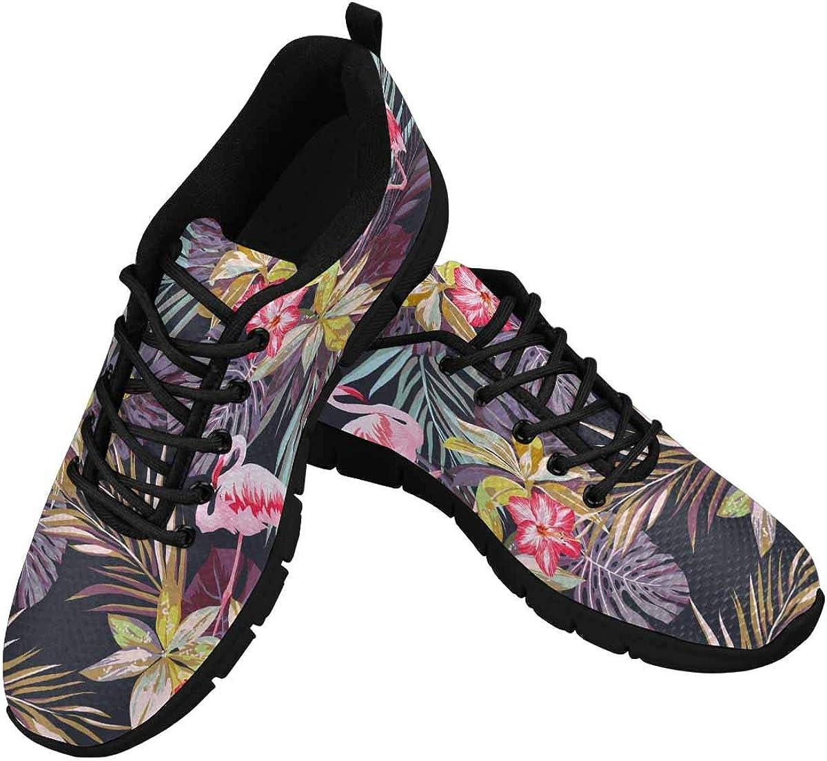 InterestPrint Tropical Max 81% OFF Regular discount Summer Flamingo Athletic Wa Women's Birds