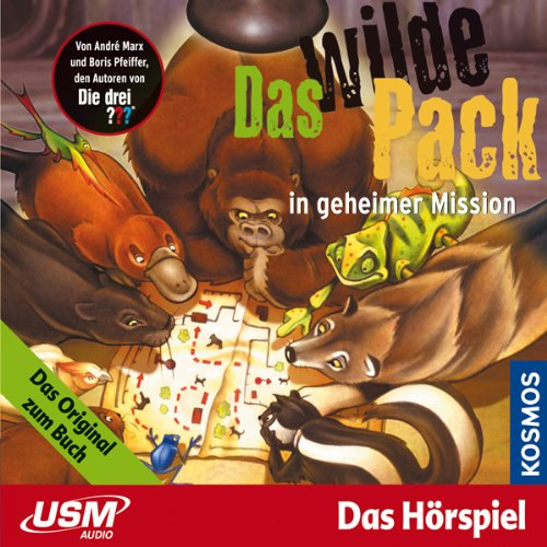 Das wilde Pack in geheimer Mission audiobook cover art