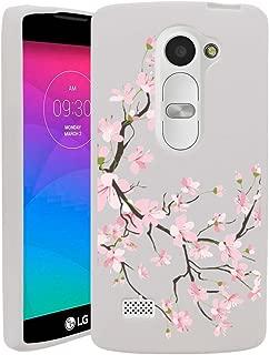 Untouchble Case for LG Leon | LG Power | LG Destiny | Sunset Flexible Case [Flex Max] Ultra Thin Flexible Slim Case with Unique Designs - Pink Cherry Blossoms