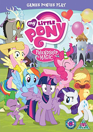 My Little Pony - Friendship Is Magic: Games Ponies Play [DVD] [UK Import]