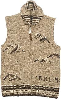 (ダブルアールエル) RRL ハンドニット セーター ベスト 手編み メンズ Hand Knit Sweater Vest 並行輸入品 [並行輸入品]
