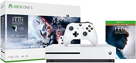 Xbox One S 1TB Console - Star Wars Jedi: Fallen Order Bundle (Renewed)