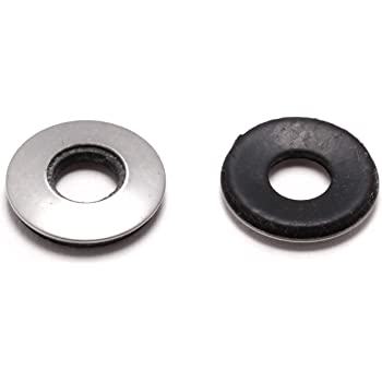 3//8 in Black Neoprene X 1-1//4 in OD 10-Pack Prime-Line 9086086 Fender Washers