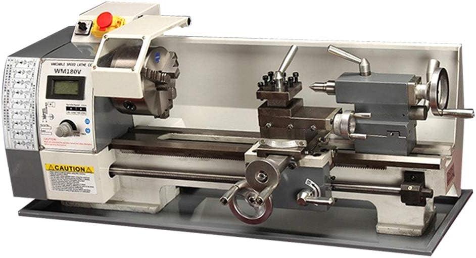 TECHTONGDA Inch Thread Metal Lathe 6 Precision Bench 7X12
