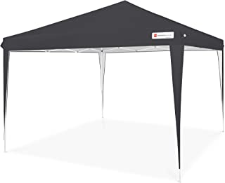 Best Choice Products Outdoor Portable Lightweight Folding Instant Pop Up Gazebo Canopy Shade Tent w/Adjustable Height, Win...
