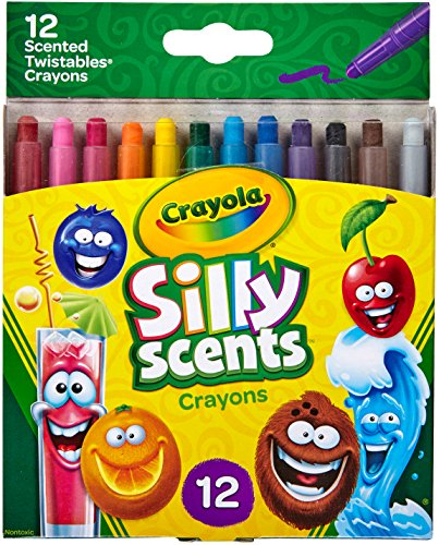 Crayola Silly Scents Twistables Crayons, Sweet Scented Crayons, 12 Count