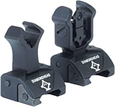 Diamondhead USA Front and Rear Combat Iron Sights - Integrated Sighting System (Sold as Set)