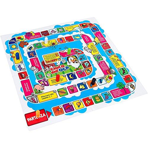 Family Games- Familygames Gioco dell'Oca, 40317